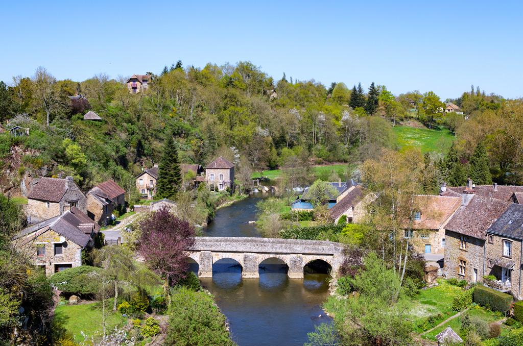 village de Saint-Cénéri-Le-Gérei